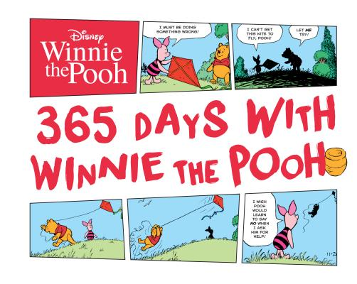 Disney 365 Days with Winnie the Pooh Cover Image