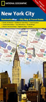 New York City (National Geographic Destination City Map) Cover Image