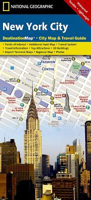 New York City (DestinationMap) Cover Image