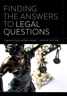 Finding the Answers to Legal Questions, Second Edition Cover Image