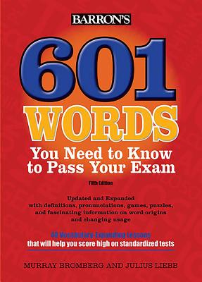601 Words You Need to Know to Pass Your Exam Cover Image