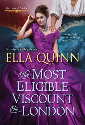 The Most Eligible Viscount in London (The Lords of London #2) Cover Image