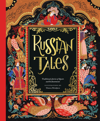 Russian Tales: Traditional Stories of Quests and Enchantments Cover Image