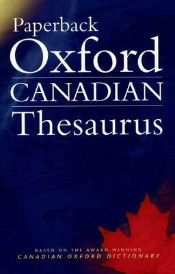 Paperback Oxford Canadian Thesaurus Cover Image