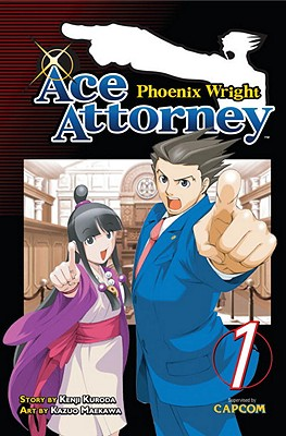 Phoenix Wright: Ace Attorney, Volume 1 Cover Image