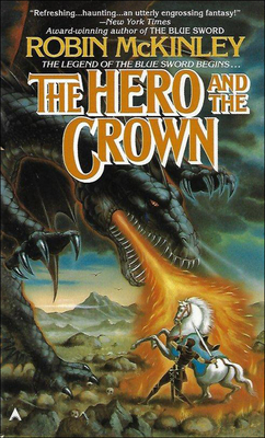 The Hero and the Crown Cover