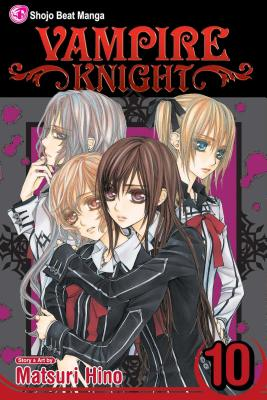 Vampire Knight, Volume 10 Cover
