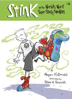 Stink and the World's Worst Super-Stinky Sneakers (Book #3) Cover Image