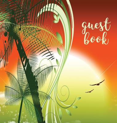 GUEST BOOK (Hardback), Visitors Book, Guest Comments Book, Vacation Home Guest Book, Beach House Guest Book, Visitor Comments Book, House Guest Book: Cover Image