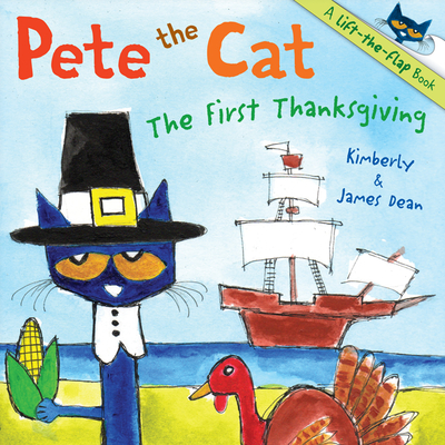 Pete the Cat: The First Thanksgiving Cover Image