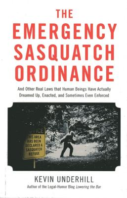 The Emergency Sasquatch Ordinance Cover