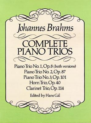 Complete Piano Trios (Dover Chamber Music Scores) Cover Image