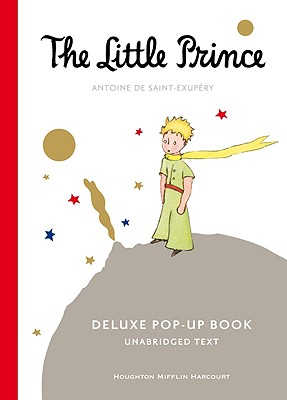 The Little Prince Deluxe Pop-Up Book Cover