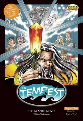 The Tempest the Graphic Novel: Original Text (Classical Comics) Cover Image