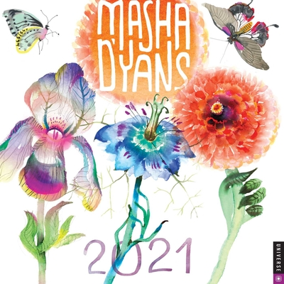 Masha D'yans 2021 Wall Calendar Cover Image