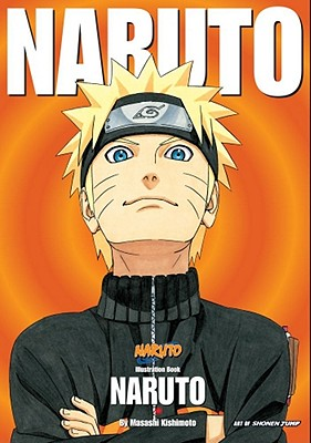 Naruto Illustration Book cover image