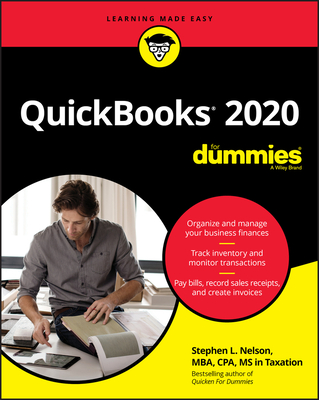 QuickBooks 2020 for Dummies Cover Image