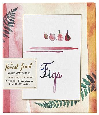 The Forest Feast Print Collection: 8 Cards, 8 Envelopes, and a Display Easel Cover Image