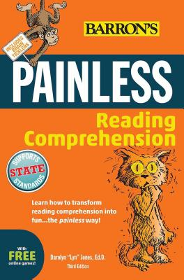 Painless Reading Comprehension (Barron's Painless) Cover Image