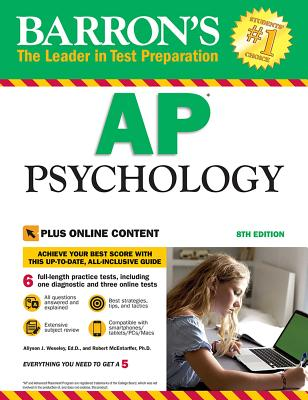 Barron's AP Psychology with Online Tests Cover Image