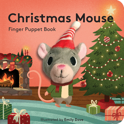Christmas Mouse: Finger Puppet Book Cover Image