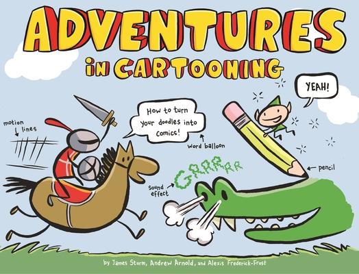 Adventures in Cartooning Cover