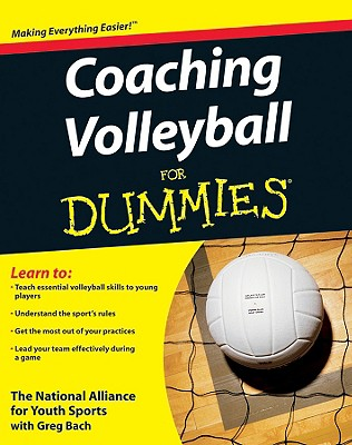 Coaching Volleyball for Dummies Cover Image
