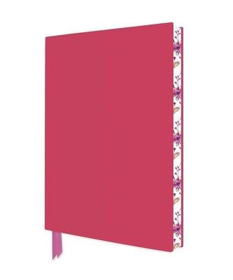 Lipstick Pink Artisan Notebook (Flame Tree Journals) (Artisan Notebooks) Cover Image