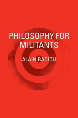 Cover for Philosophy for Militants