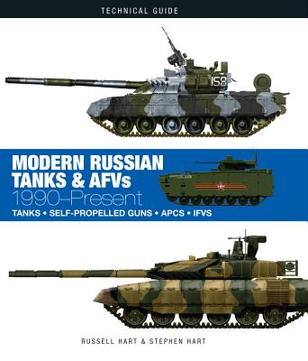 Modern Russian Tanks & AFVs: 1990-Present (Technical Guides) Cover Image