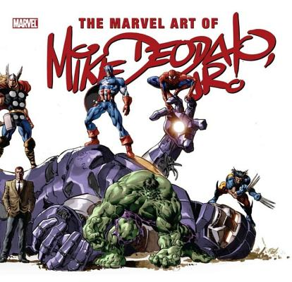 The Marvel Art of Mike Deodato, Jr. Cover Image