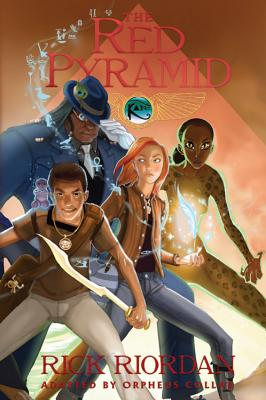 The Kane Chronicles, Book One the Red Pyramid: The Graphic Novel (Kane Chronicles Graphic Novels #1) Cover Image
