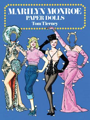Marilyn Monroe Paper Dolls (Dover Celebrity Paper Dolls) Cover Image