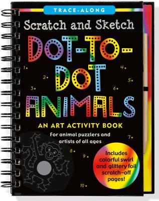 Scratch & Sketch Animal Dot-To Cover Image