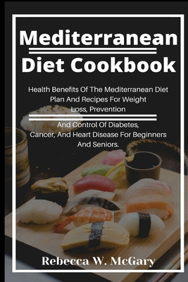 Mediterranean Diet Cookbook Cover Image