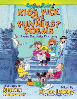 Kids Pick the Funniest Poems Cover