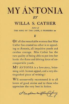My Antonia: By Cather, Willa Cover Image