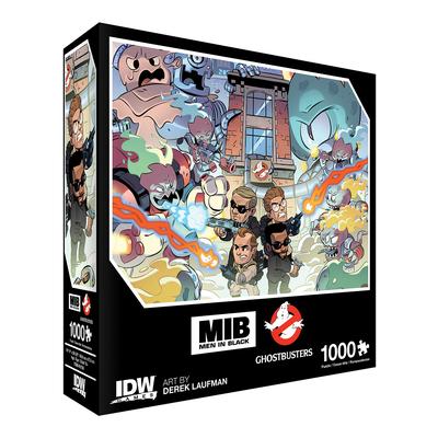 Men In Black/Ghostbusters: Ecto-terrestrial Invasion Premium Puzzle (1000-pc) Cover Image