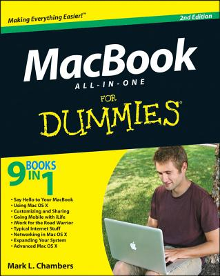 Macbook All-In-One for Dummies Cover