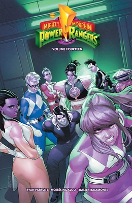 Mighty Morphin Power Rangers Vol. 14  Cover Image