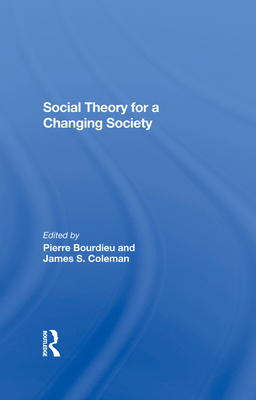 Social Theory for a Changing Society Cover Image