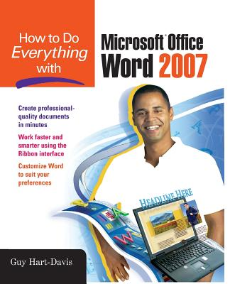 How to Do Everything with Microsoft Office Word 2007 Cover Image