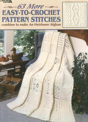 63 More Easy-To-Crochet Pattern Stitches Cover