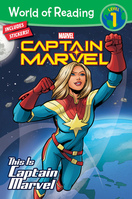 World of Reading This is Captain Marvel (Level 1) Cover Image