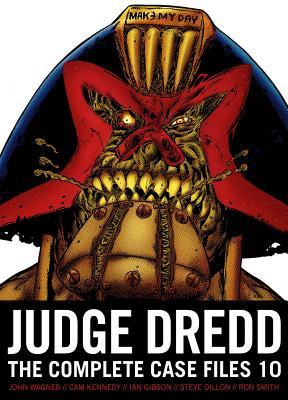 Judge Dredd: The Complete Case Files 10 Cover Image