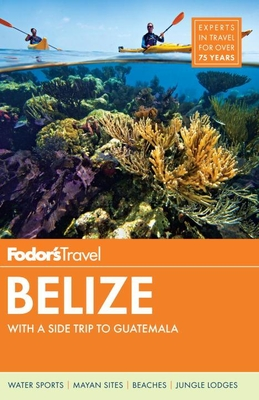 Fodor's Belize Cover