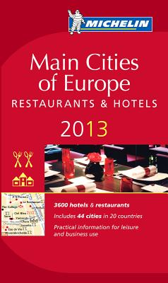Michelin Guide Main Cities of Europe Cover