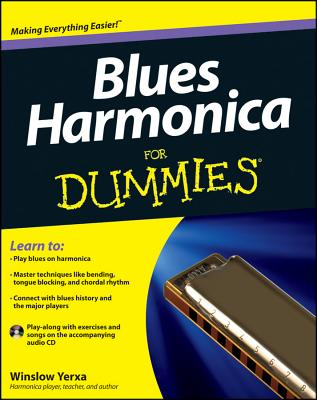 Blues Harmonica for Dummies [With CD (Audio)] Cover Image