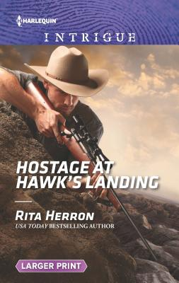 Cover for Hostage at Hawk's Landing