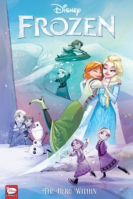 Disney Frozen: The Hero Within (Graphic Novel) Cover Image